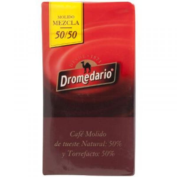 CAFE DROMEDARIO MOLIDO MEZCLA 50/50 250 GRS