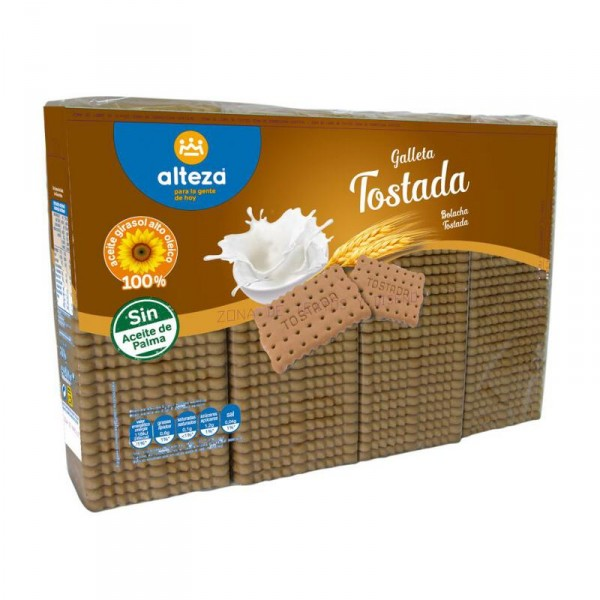 GALLETA ALTEZA TOSTADA PACK 4 UNDS X 200 GRS