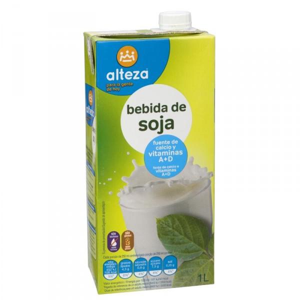 BEBIDA ALTEZA DE SOJA CALCIO Y VITAMINAS LITRO