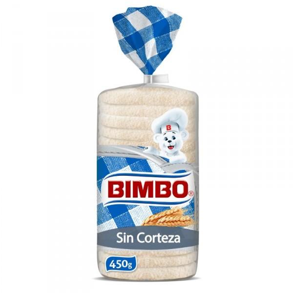 PAN BIMBO SIN CORTEZA 450 GRS