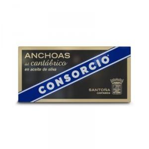 ANCHOA CONSORCIO CANTABRICO ACEITE OLIVA RR50, 29 GR. P.E.
