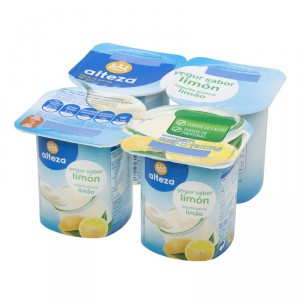 YOGUR ALTEZA SABOR LIMON PACK 4 UNDS X 125 GRS