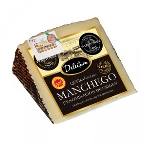 QUESO MANCHEGO DELEITUM D.O.P. CUÑA 250 GRS