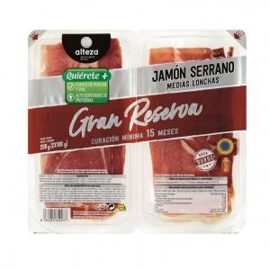 JAMON ALTEZA SERRANO GRAN RESERVA 15 MESES 2X100 GRS.