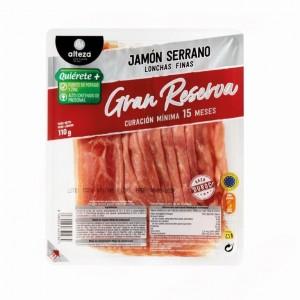 JAMON ALTEZA SERRANO GRAN RESERVA CURACION MIN.15MESES 110GR