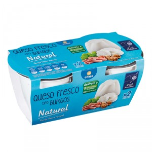 QUESO ALTEZA BURGOS FRESCO TARRINA P-2X250 GRS.