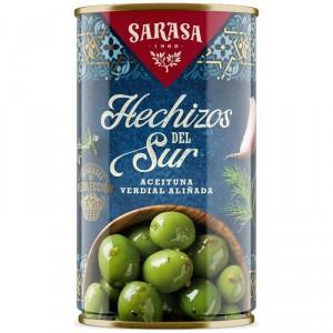 ACEITUNAS HECHIZOS DEL SUR SARASA 350 GRS 150 P.E