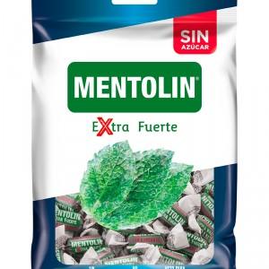 CARAMELO MENTOLIN EXTRA FUERTE SIN AZUCAR 100 GRS.