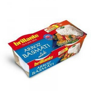 ARROZ BRILLANTE BASMATI GUARNICION PACK 2 UNDS X 125 GR.