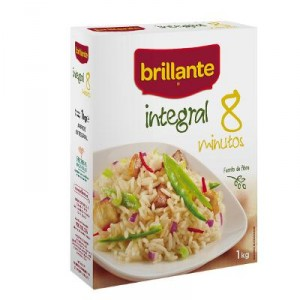 ARROZ BRILLANTE INTEGRAL 8 MINUTOS 750 GRS