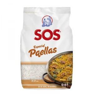 ARROZ SOS ESPECIAL PAELLAS 1 KILO