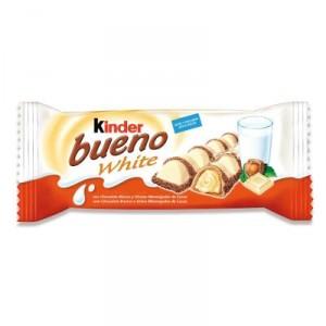 CHOCOLATINA KINDER BUENO WHITE 39 GRS.