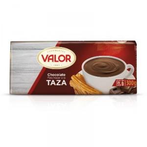 CHOCOLATE VALOR TAZA 300 GRS