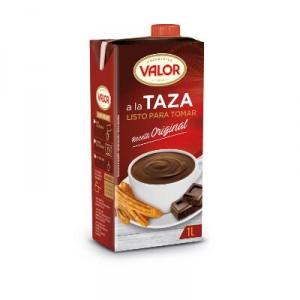 CHOCOLATE VALOR TAZA LITRO