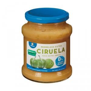 MERMELADA ALTEZA CIRUELA 0% AZUCARES AÑADIDOS 350 GRS.