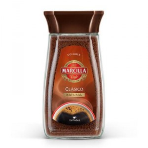 CAFE MARCILLA SOLUBLE CLASICO NATURAL 200 GRS