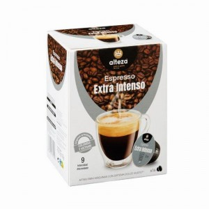 CAFE ALTEZA EXTRA INTENSO 16 CAP.120 GRS COMP.DOLCE GUSTO