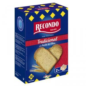 PAN RECONDO TOSTADO TRADICIONAL 30 REBANADAS 270 GRS