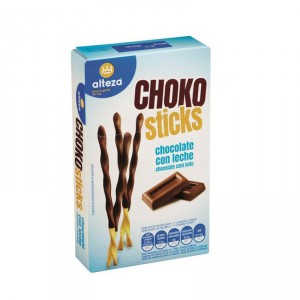 CHOKO STICKS ALTEZA CHOCOLATE CON LECHE 75 GRS