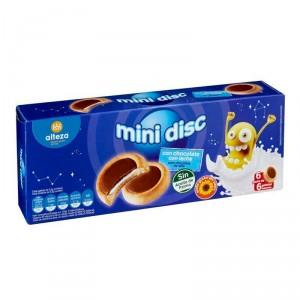 GALLETAS ALTEZA MINI DISC CHOCOLATE CON LECHE 236 GRS