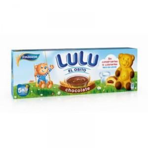 BIZCOCHO OSITO LULU RELLENO CHOCOLATE 150 GRS