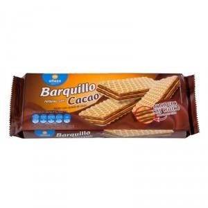 BARQUILLO ALTEZA RELLENO CACAO 200 GRS