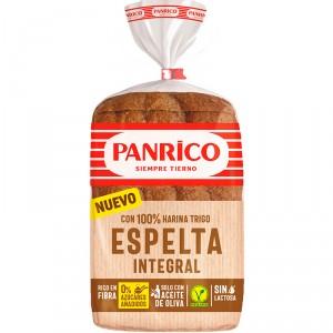 PAN PANRICO 100% HARINA INTEGRAL DE ESPELTA 385 GRS.