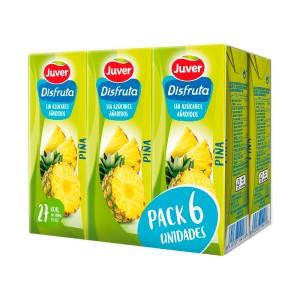 NECTAR DISFRUTA JUVER PIÑA SIN AZUCAR PACK 6 UND X 200ML
