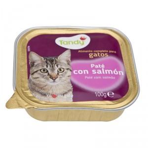 ALIMEMTO TANDY GATO CON SALMON TARRINA 100 GRS