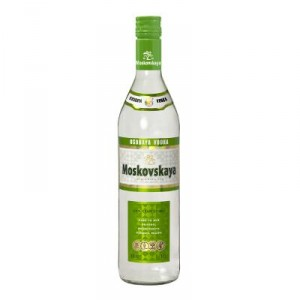 VODKA MOSKOVSKAYA 70 CL.
