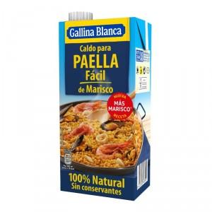 CALDO GALLINA BLANCA PAELLA FACIL 100% NATURAL LT