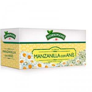 INFUSION HORNIMANS MANZANILLA ANIS 25 FILTROS.