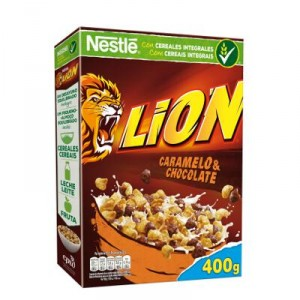 CEREALES NESTLE LION CARAMELO & CHOCOLATE 400 GRS