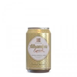 CERVEZA ALHAMBRA ESPECIAL LATA 33 CL.