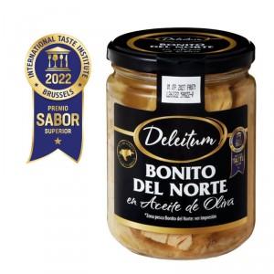 BONITO DEL NORTE DELEITUM ACEITE DE OLIVA 400 GRS 260 GRS PE