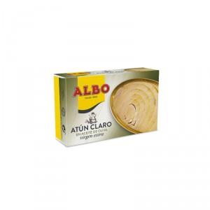 ATUN ALBO CLARO ACEITE OLIVA VIRGEN EXTRA OL-120, 82 GR.P.E.