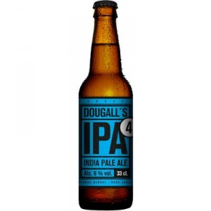 CERVEZA DOUGALL'S IPA4 PALE BOT 33 CL.