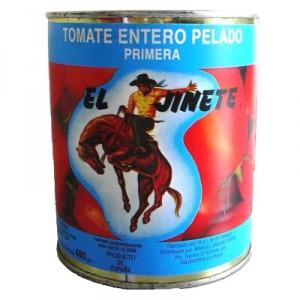 TOMATE EL JINETE NATURAL 800 GR., 480 GR. P.E.