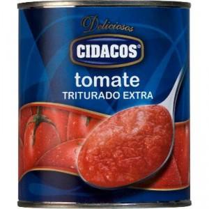 TOMATE CIDACOS TRITURADO 800 GR.