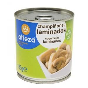 CHAMPIÑON ALTEZA LAMINADO FA 185 GR., 105 GR. P.E.