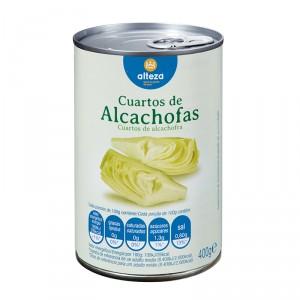 ALCACHOFA ALTEZA TROZOS FA 400 GRS 240 GRS P.E.