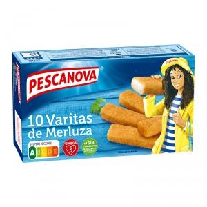 VARITAS DE MERLUZA PESCANOVA 300 GRS