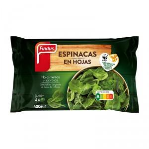 ESPINACA EN HOJAS FINDUS 400 GRS