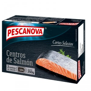 CENTROS DE SALMON PESCANOVA 250 GRS