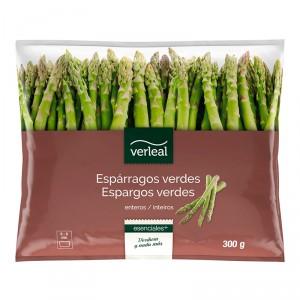 ESPARRAGOS VERDES ENTEROS VERLEAL 300 GRS.