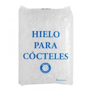 HIELO PICADO COCTELERIA BOLSA 2 KILOS