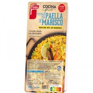 PREPARADO DE PAELLA DE MARISCO FINDUS 400 GRS