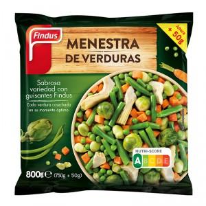 MENESTRA FINDUS DE VERDURA 800 GRS
