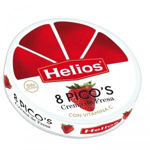 PICOS HELIOS FRESA 8 UNDS 170 GRS