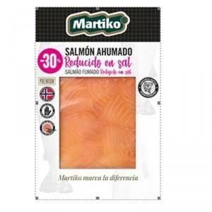 SALMON AHUMADO NORUEGO MARTIKO BAJO EN SAL 80 GRS.